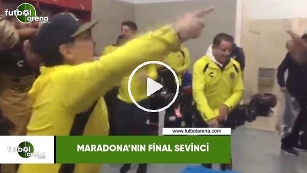 'Maradona'nın final sevinci