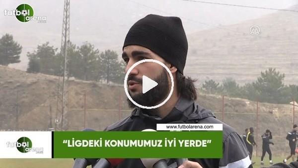 """'Ahmet Ildız: """"Ligdeki konumumuz iyi yerde"""""""