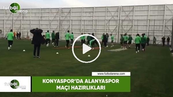 Konyaspor'da Alanyaspor maçı hazırlıkları
