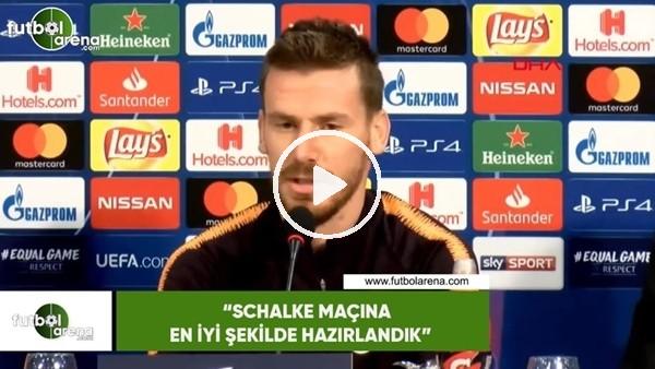 """Serdar Aziz: """"Schalke maçına en iyi şekilde hazırlandık"""""""