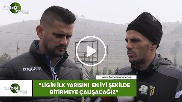 """'Danijel Aleksic: """"Ligin ilk yarısını en iyi şekilde bitirmeye çalışacağız"""""""