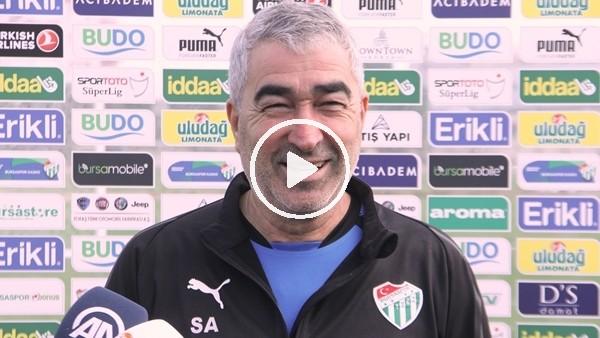 """Samet Aybaba: """"Kalan maçları kazanmak istiyoruz"""""""