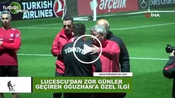 'Lucescu'dan zor günler geçiren Oğuzhan'a özel ilgi