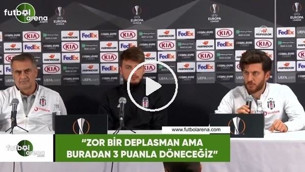 """Adem Ljajic: """"Zor bir deplasman ama buradan 3 puanla döneceğiz"""""""