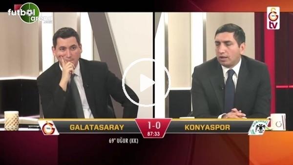 """GS TV'de penaltı isyanı! """"Yazıklar olsun..."""""""