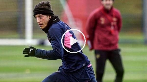 'Mesut Özil antrenmanda neşe kaynağı