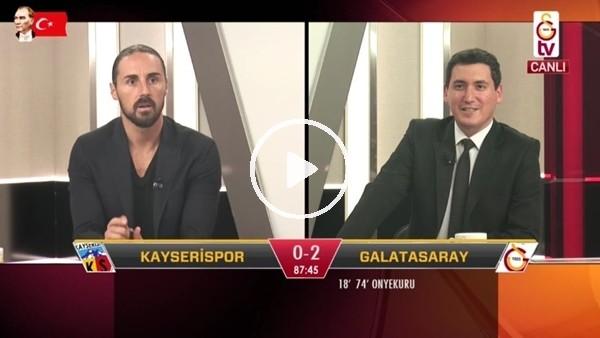 'Ömer Bayram'ın golünde GS TV spikerleri