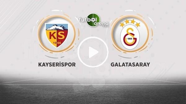 'FutbolArena TV'de Kayserispor - Galatasaray maçı sonrası değerlendirmeler