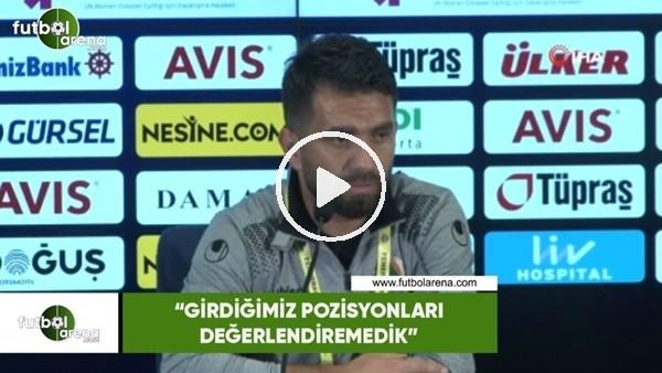 """'Mustafa Camunak: """"Girdiğimiz pozisyonları değerlendiremedik"""""""