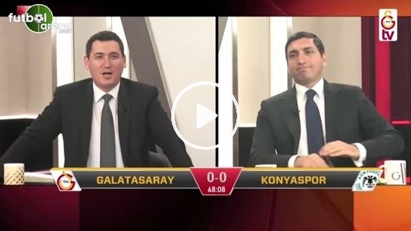 Uğur Demirok'un kendi kalesine attığı golde GS TV spikerleri