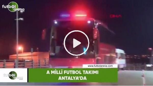 A Milli Futbol Takımı, Antalya'da