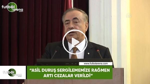 """'Mustafa Cengiz: """"Asil duruş sergilememize rağmen artı cezalar verildi"""""""