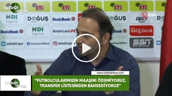 """'Fuat Çapa: """"Futbolcularımızın maaşını ödeiyoruz, transfer listesinden bahsediyoruz"""""""