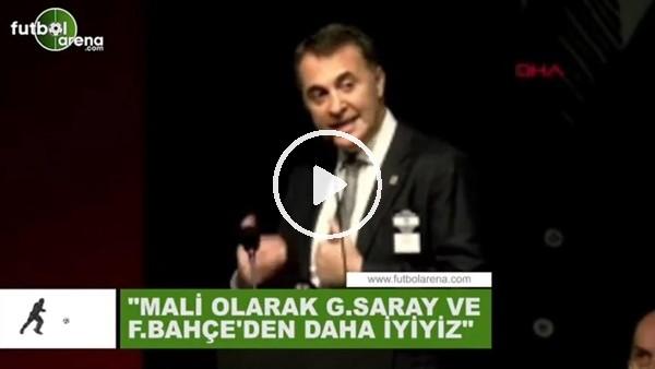 """'Fikret Orman: """"Mali olarak Fenerbahçe ve Galatasaray'dan daha iyiyiz"""""""
