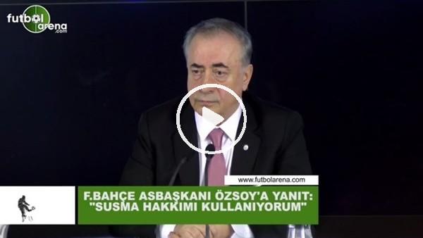"""'Mustafa Cengiz'den Semih Özsoy'a yanıt! """"Susma hakkımı kullanıyorum"""""""