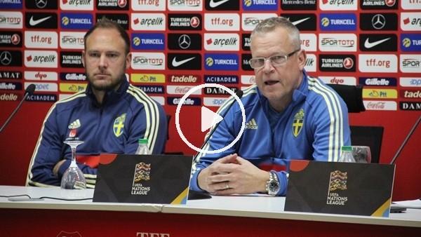 """'Janne Andersson: """"Son maça göre daha iyi bir sonuç çıkaracağız"""""""