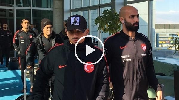 'A Milli Futbol Takımı, Konya'ya geldi