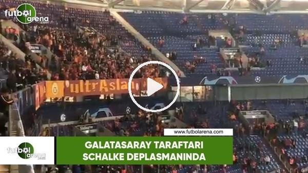 Galatasaray taraftarı Schalke deplasmanında