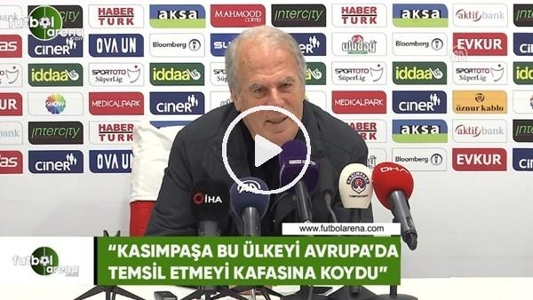 """'Mustafa Denizli: """"Kasımpaşa bu ülkeyi Avrupa'da temsil etmeyi kafasına koydu"""""""