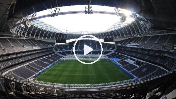 Tottenham'ın yeni stadı büyülüyor