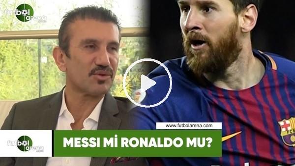 'Messi mi, Ronaldo mu? Rüştü Reçber yanıtladı...