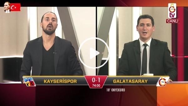 'Onyekuru'nun 2. golünde GS TV spikerleri