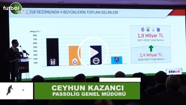 """'Ceyhun Kazancı: """"Gelecek sene gelirlerin 4 Milyar TL olması beklenen bir sonuç"""""""