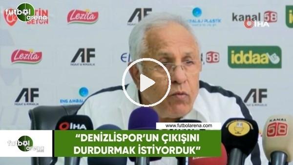 """'Hüseyin Kalpar: """"Denizlispor'un çıkışını durdurmak istemiştik"""""""