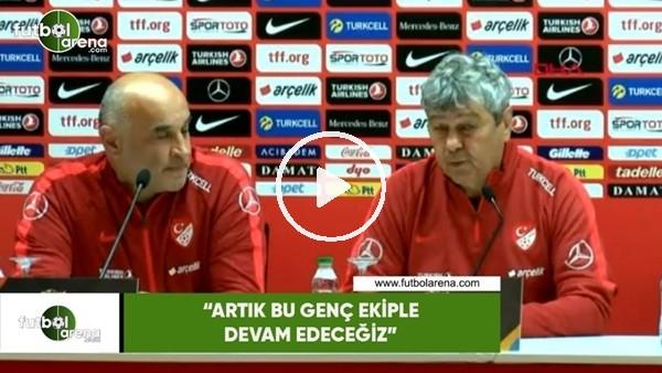 """'Mircea Lucescu: """"Artık bu genç ekiple devam edeceğiz"""""""
