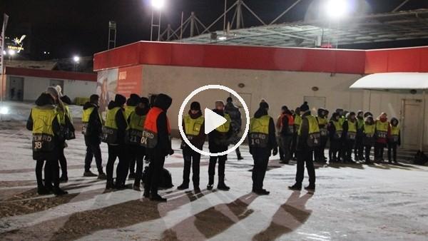 Lokomotiv Stadı'nda güvenlik önlemleri arttırıldı