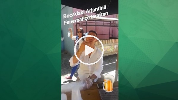 'Arjantin sokaklarında Fenerbahçe sevgisi
