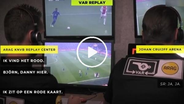'Ajax-Feyenoord maçının VAR konuşmaları yayınlandı