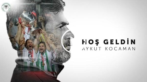 'Konyaspor, Aykut Kocaman'ı böyle duyurdu