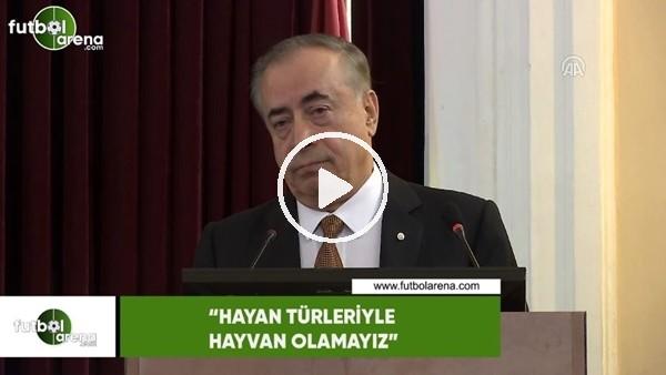 """'Mustafa Cengiz: """"Hayvan türleriyle hayvan olamayız"""""""
