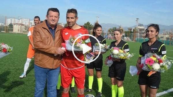 'Türk futbol tarihinde bir ilk! Maçı 4 kadın hakem yönetti...