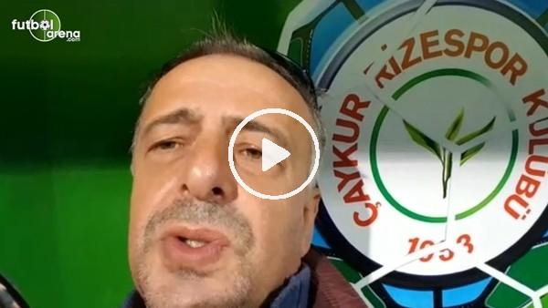 'Çaykur Rizespor - Başakşehir maçından notlar