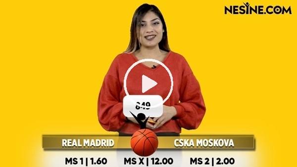 Real Madrid - CSKA Moskova maçı Nesine'de! TIKLA & OYNA
