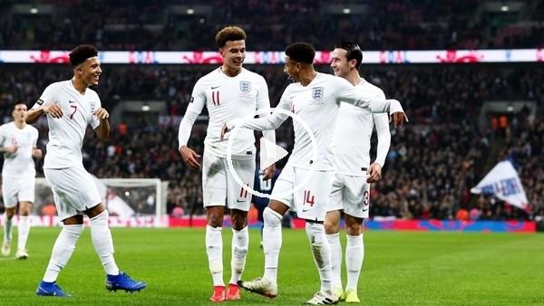 'İngiltere 2-0 ABD (Maç özeti ve golleri)