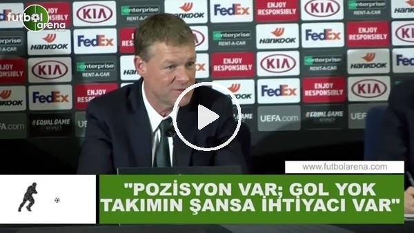"""Erwin Koeman: """"Pozisyon var; gol yok takımın şansa ihtiyacı var"""""""
