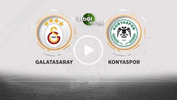 FutbolArena TV'de Galatasaray - Konyaspor maçı öncesi değerlendirmeler