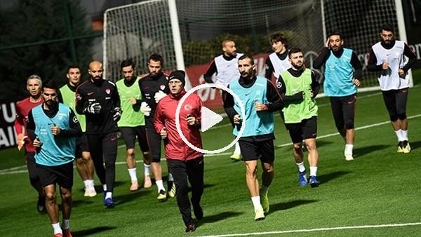 'Milli Takım, Ukrayna maçı hazırlıklarına başladı
