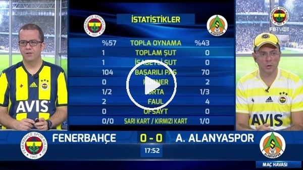 'Andre Ayew'in golünde FB TV spikerleri