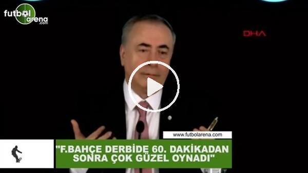 """'Mustafa Cengiz: """"Fenerbahçe derbide 60. dakikakdan sonra çok güzel oynadı"""""""