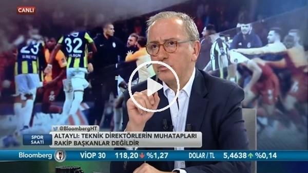 """'Fatih Altaylı'dan Semih Özsoy'a sert sözler! """"Senin ne haddine...."""""""