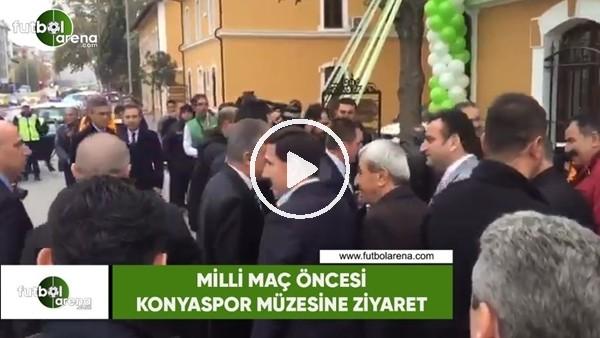 'Milli maç öncesi Konyaspor müzesine ziyaret