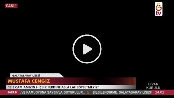 'Galatasaray divan kurulu'nda elektrikler kesildi