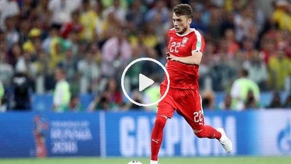 Adem Ljajic'in milli formayla attığı gol