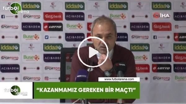 """'Erkan Sözeri: """"Kazanmamız geren bir maçtı"""""""