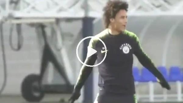 'Leroy Sane'den Ronaldo sevinci