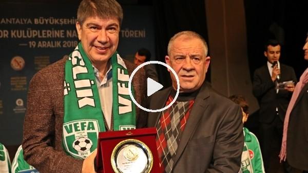 Antalya Büyükşehir'den 106 amatör kulübe destek
